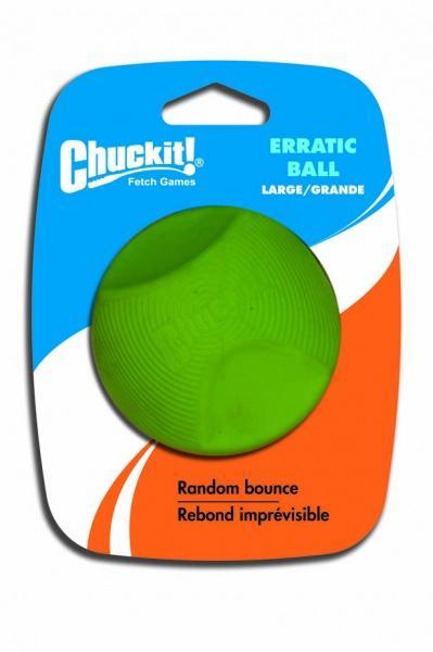 Chuckit! Erratic tévelygő labda nagy 7,5 cm 1 db