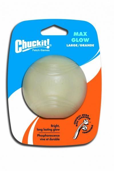 Chuckit! Glow világító labda nagy 7,5 cm 1 db