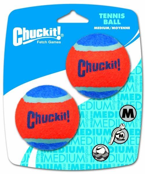 Chuckit! Tennis labda medium 6,5 cm 2 db