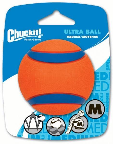 Chuckit! Ultra gumi labda medium 6,5 cm 1 db