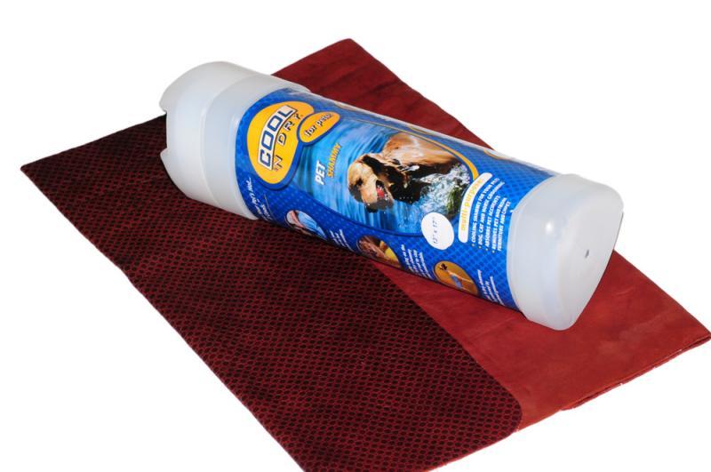 COOL &039;N Dry Kutya Törölköző Kicsi - Csoki barna