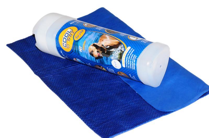 COOL 'N Dry Kutya Törölköző Kicsi - Király kék