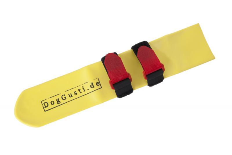 DogGusti® Védőzokni kutyáknak M 6,5 cm Sárga