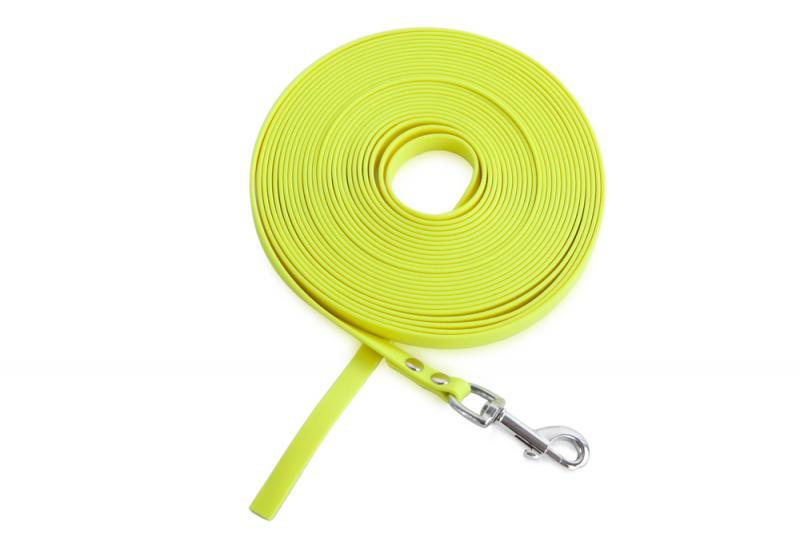 FIREDOG® BioThane Nyomkövető Póráz 13 mm 7,5 m Sárga