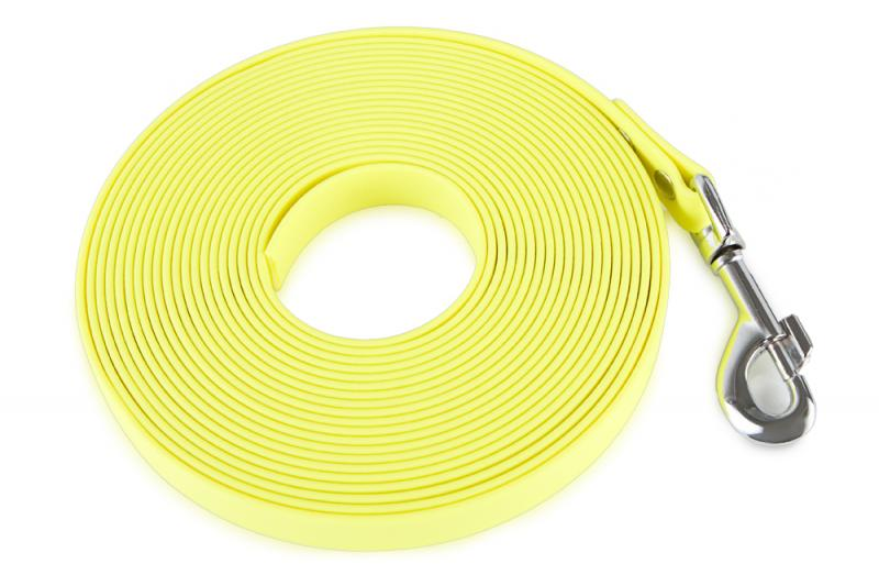 FIREDOG® BioThane Nyomkövető Póráz 19 mm 5 m Sárga