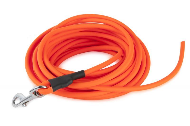 FIREDOG® BioThane Póráz 8 mm 10 m Narancssárga