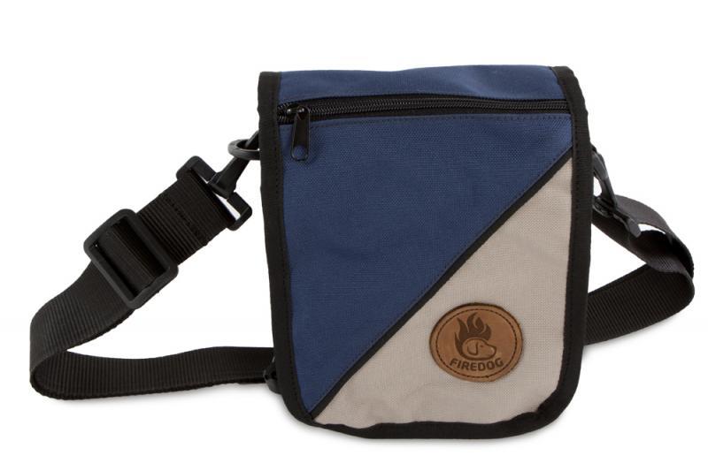 FIREDOG Dokumentumos táska Tenger kék/Bézs