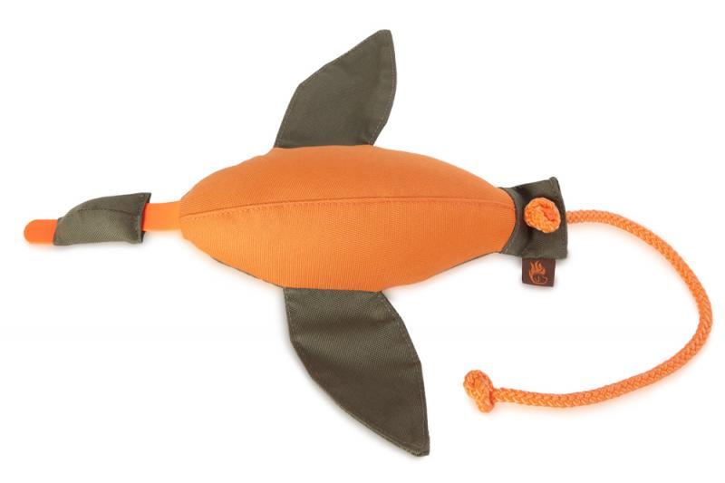 FIREDOG® Dummy Kacsa Nylon Narancs/Khaki 600 g