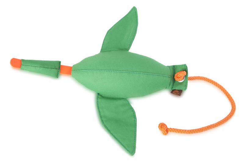 FIREDOG® Dummy Kacsa Nylon Zöld 600 g
