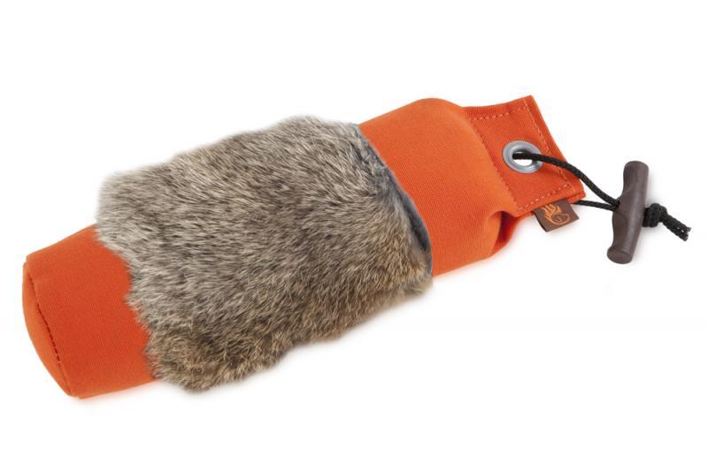 FIREDOG® Dummy Nyúlszőrrel 1000 g Narancs