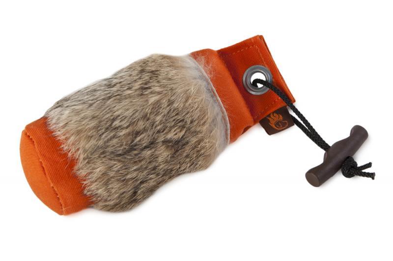 FIREDOG® Dummy Nyúlszőrrel 250 g Narancs