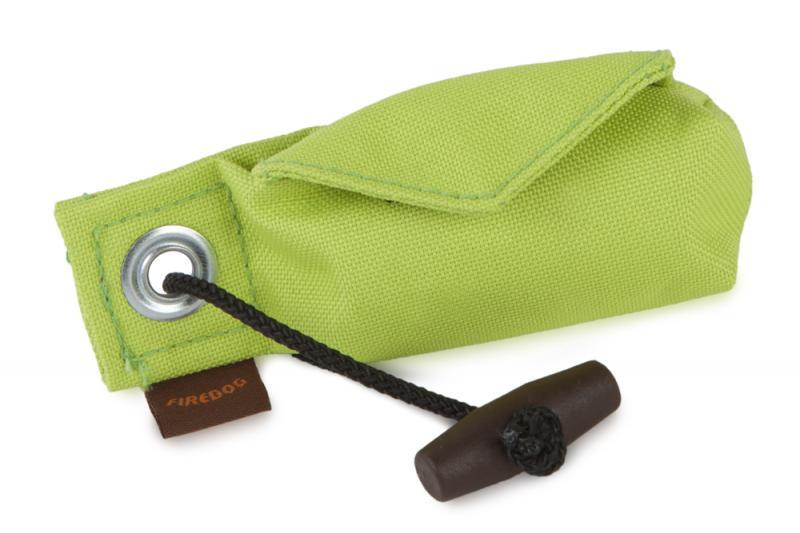 FIREDOG® Dummy Pocket Go Toi 2 in 1 + 1 tekercs (20 db) - Neon zöld