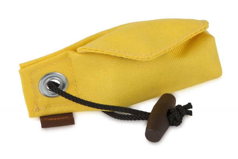 FIREDOG® Dummy Pocket Go Toi 2 in 1 + 1 tekercs (20 db) - Sárga