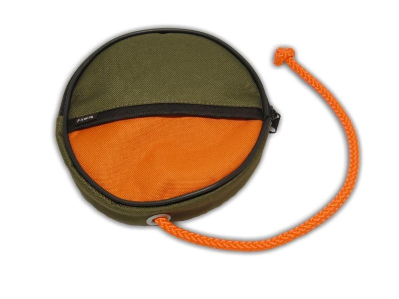 FIREDOG® Dummy Snack Disc Khaki/Narancs