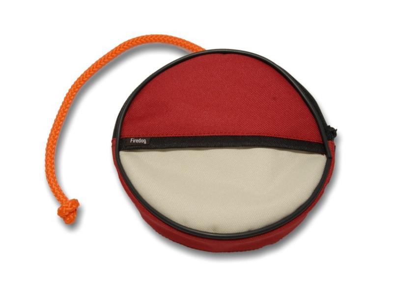 FIREDOG® Dummy Snack Disc Piros / Bézs