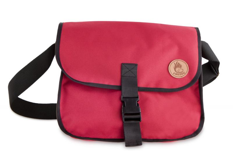 FIREDOG Dummy tartó táska M - Vörös