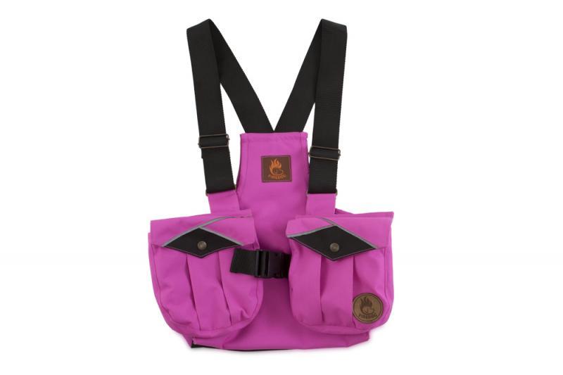 FIREDOG® Dummy vest Trainer gyerekeknek 122-128 Rózsaszín/Fekete