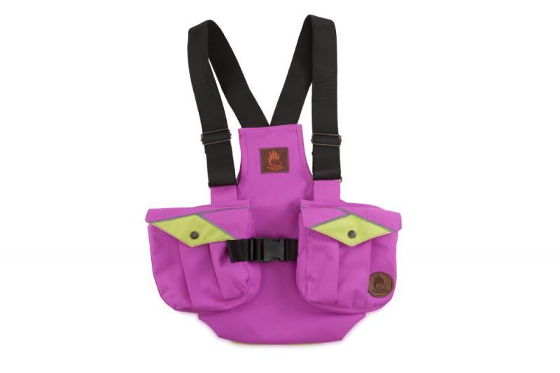 FIREDOG Dummy vest Trainer gyerekeknek 122-128 Rózsaszín/Neon zöld