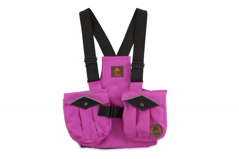 FIREDOG® Dummy vest Trainer gyerekeknek 140-146 Rózsaszín/Fekete