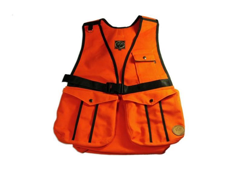 FIREDOG® Dummytartó mellény Hunter 'M' - Narancs vászon