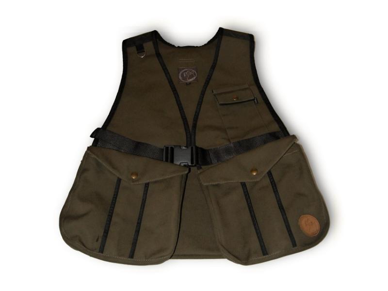 FIREDOG® Dummytartó mellény Hunter 'S' - Khaki vászon