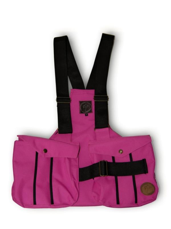 FIREDOG® Dummytartó mellény Trainer 'XL' -  Rózsaszín