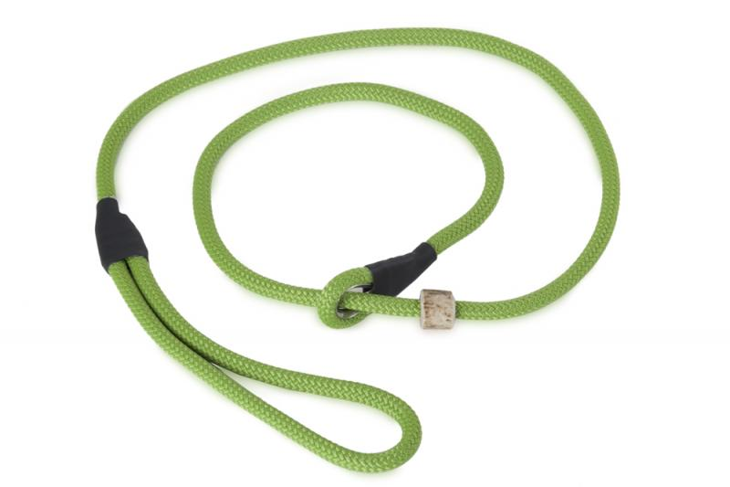 FIREDOG Field Trial Moxon Retriever póráz 8 mm 150 cm Világos zöld