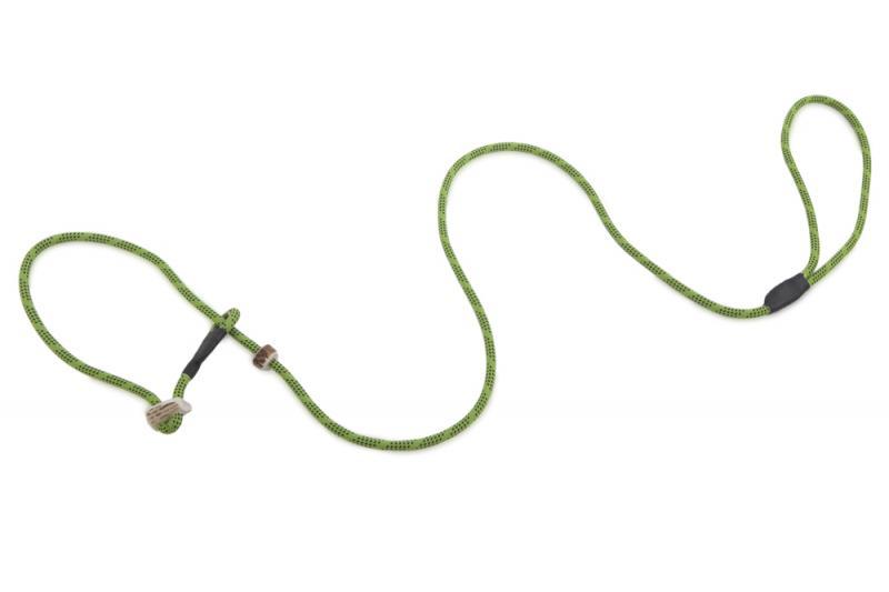 FIREDOG Field trial Retriever póráz agancs fékkel 6 mm 150 cm Világos zöld/Fekete