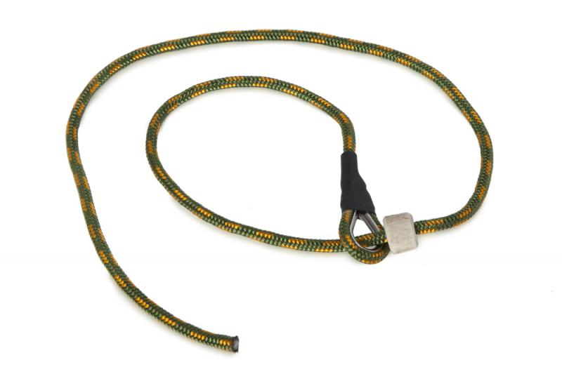 FIREDOG® Field Trial Rövid Retriever Póráz 4 mm 65 cm Khaki/Narancs