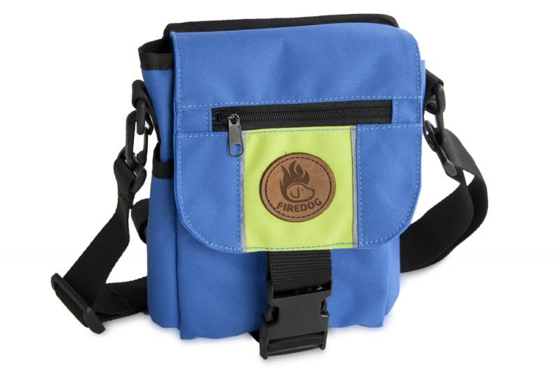FIREDOG® Mini Dummy bag DeLuxe gyerekeknek Kék/Neon zöld