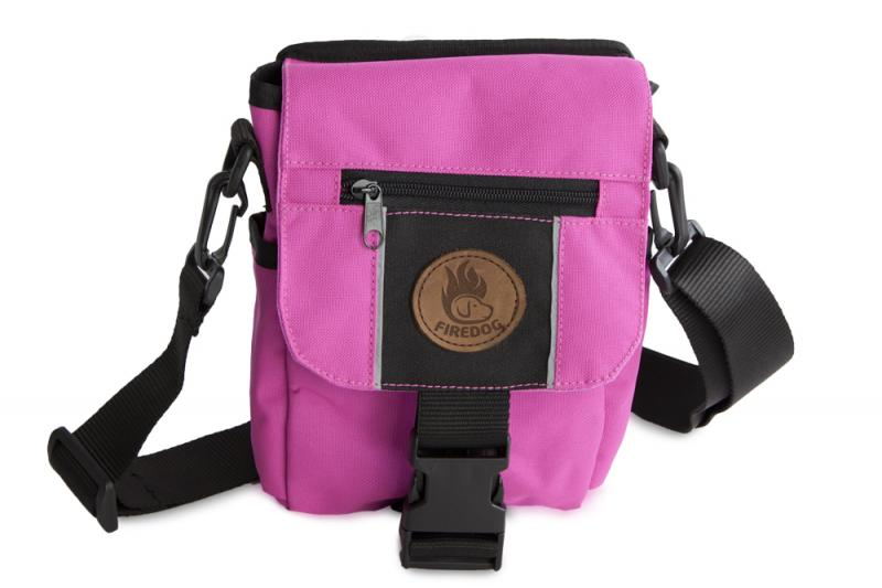 FIREDOG® Mini Dummy bag DeLuxe gyerekeknek Rózsaszín/Fekete