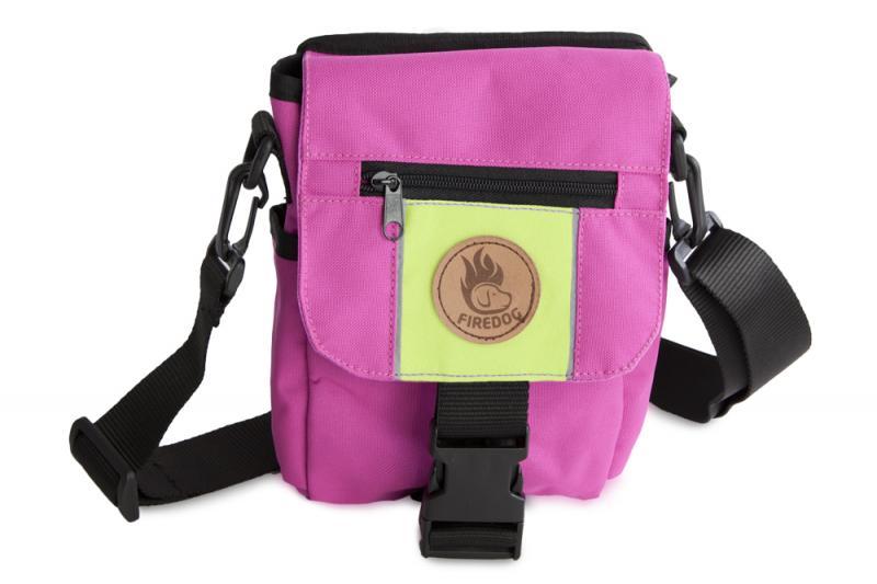 FIREDOG® Mini Dummy bag DeLuxe gyerekeknek Rózsaszín/Neon zöld