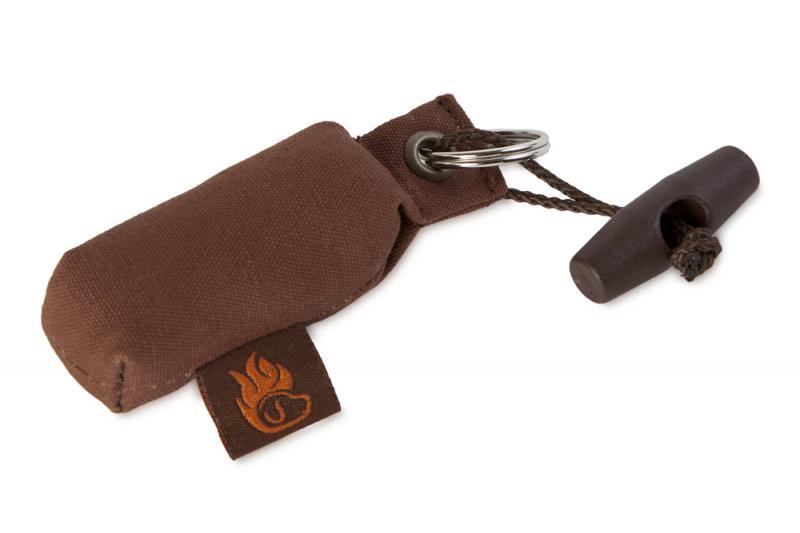 FIREDOG® Mini Dummy Kulcstartó - Barna