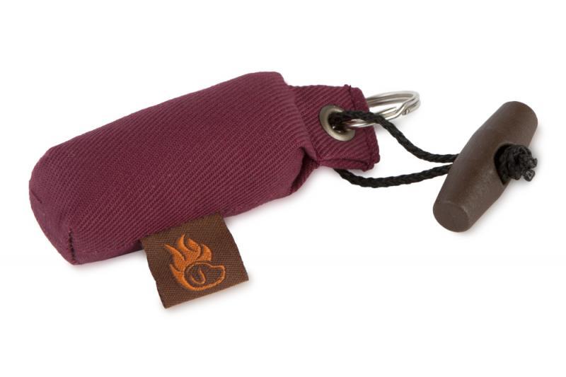 FIREDOG® Mini Dummy Kulcstartó - Bordó