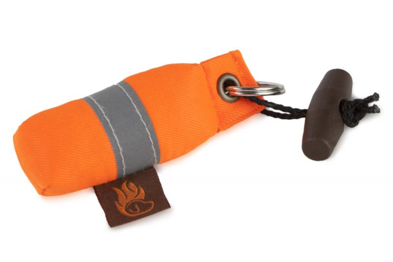 FIREDOG® Mini Dummy Kulcstartó - Narancs/Fényvisszaverő