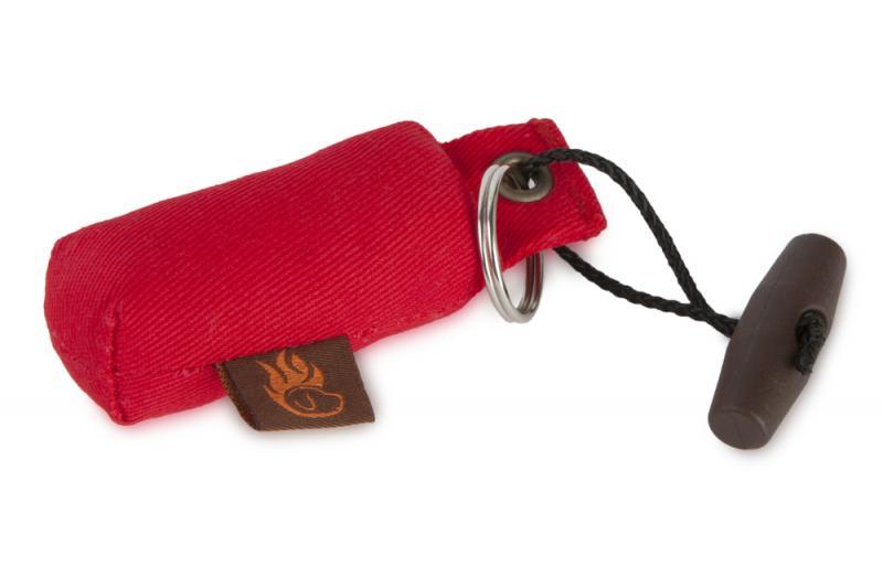 FIREDOG® Mini Dummy Kulcstartó - Piros