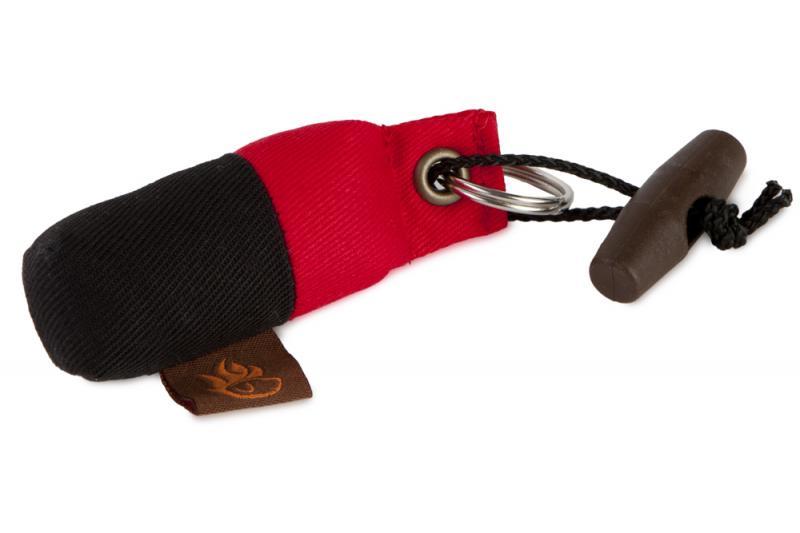 FIREDOG® Mini Dummy Kulcstartó - Piros/Fekete