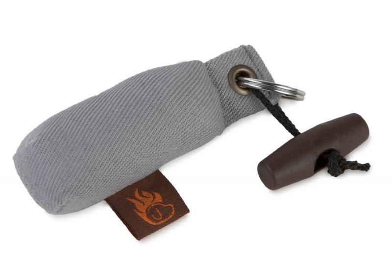 FIREDOG® Mini Dummy Kulcstartó - Szürke