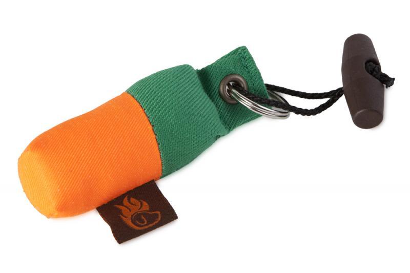 FIREDOG® Mini Dummy Kulcstartó - Zöld/Narancs