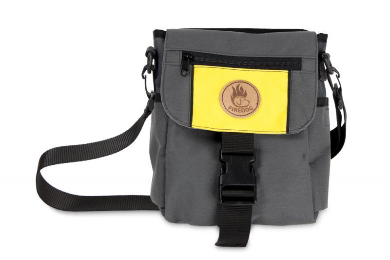 FIREDOG Mini Dummybag Delux - Sötét szürke/Sárga