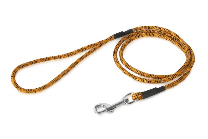 FIREDOG® Póráz 6 mm 130 cm - Narancs/Fekete