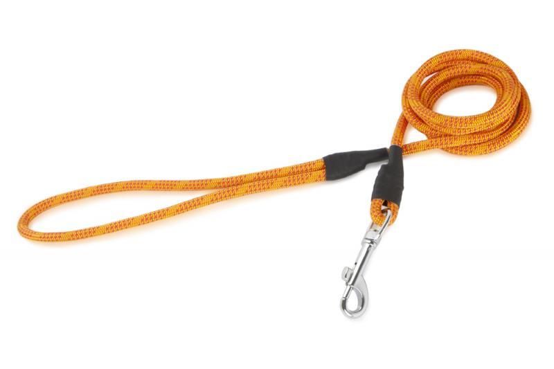 FIREDOG® Póráz 6 mm 130 cm - Narancs/Piros
