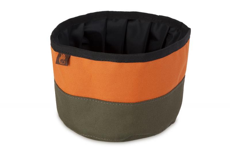 FIREDOG® Utazó Tál - Khaki/Narancs