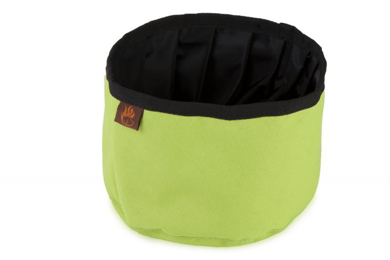 FIREDOG® Utazó Tál - Neon zöld