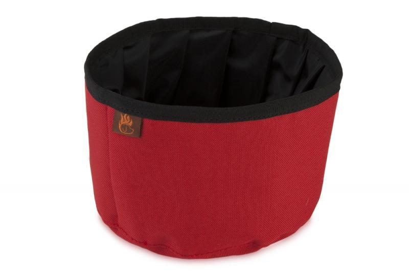 FIREDOG® Utazó Tál - Piros