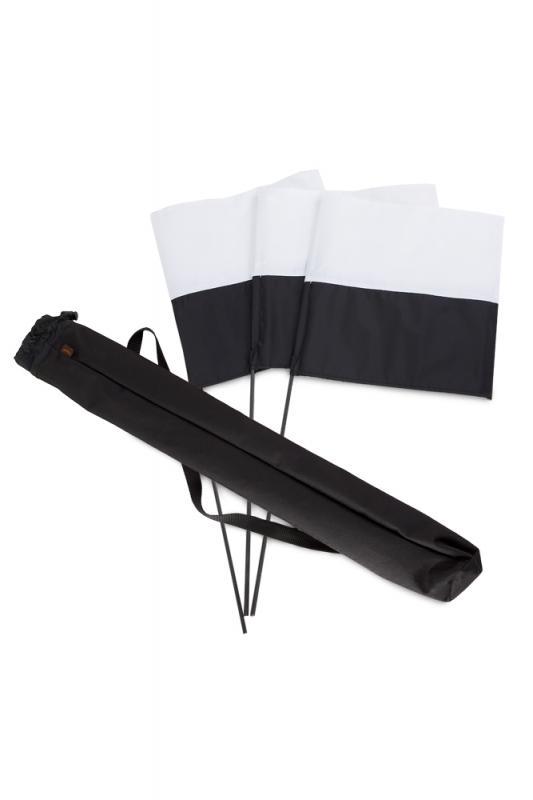 Oktató zászló marking 3 db + táska