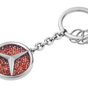 St. Tropez piros kulcstartó