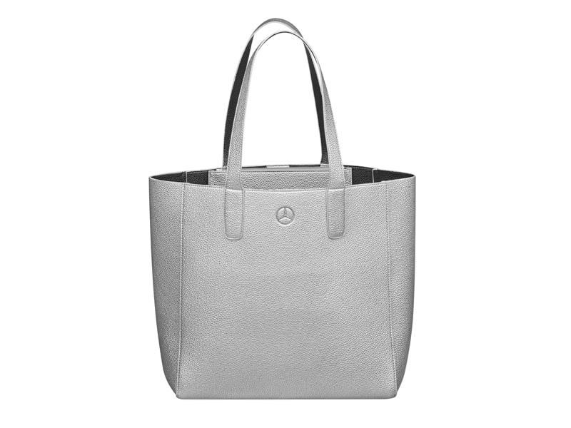 Női bevásárló táska ezüst
