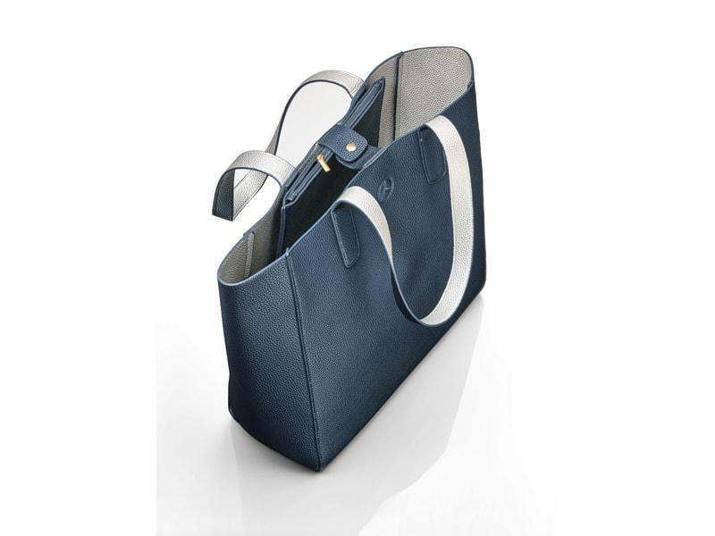 Női bevásárló táska kék
