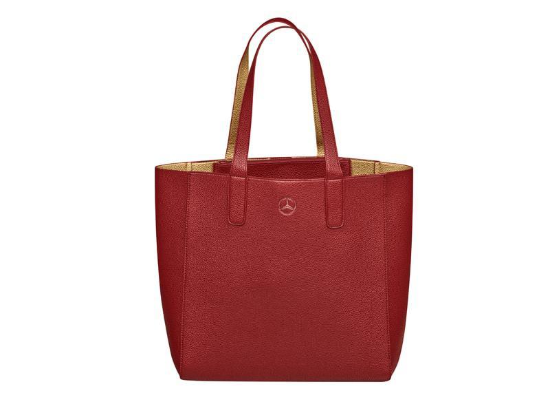 Női bevásárló táska piros